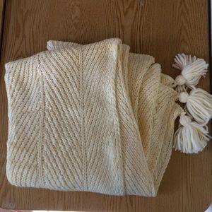 New Opalhouse Knit Blanket Throw Fringes 50x60